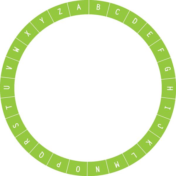 image relating to Cipher Wheel Printable named Perkley - Cipher Wheel